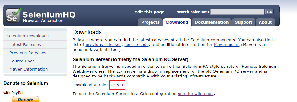 selenium-server-jar