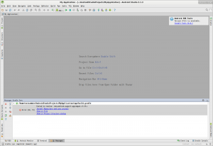 My Application - [~-AndroidStudioProjects-MyApplication] - Android Studio 2.1.3_015