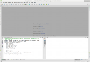My Application - [~-AndroidStudioProjects-MyApplication] - Android Studio 2.1.3_023