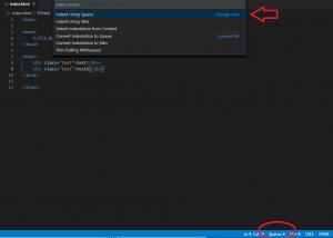 vscode_format_indent